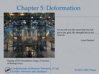 Chapter 5: Deformation