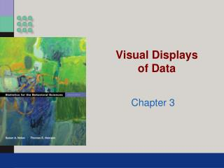 Visual Displays of Data