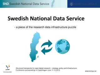Swedish National Data Service