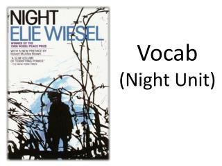 Vocab  (Night Unit)