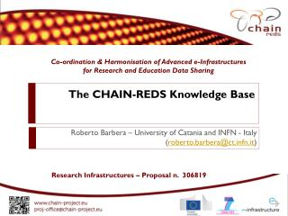 The  CHAIN-REDS Knowledge  Base