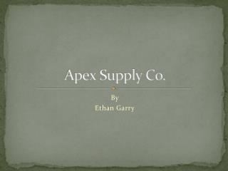 Apex Supply Co.