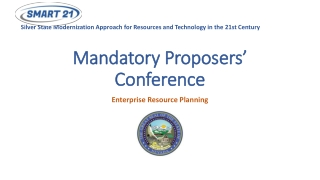 Mandatory Proposers' Conference