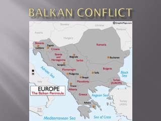 Balkan Conflict