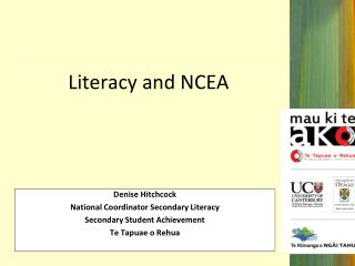 Literacy and NCEA