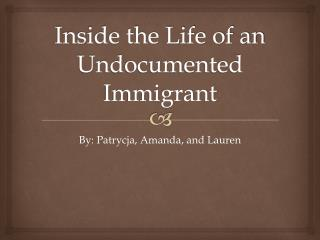 Inside the Life of an Undocumented Immigrant