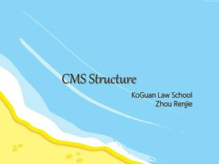 CMS Structure