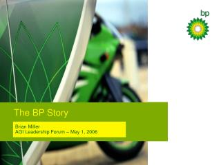 The BP Story