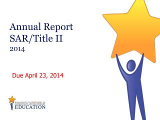 Annual Report SAR/Title II 2014