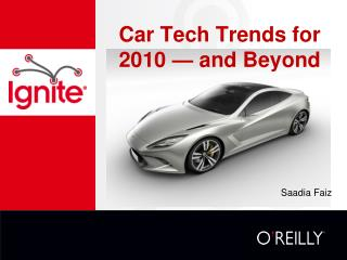 Car Tech Trends for 2010 — and Beyond
