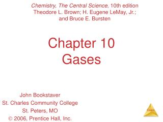 Chapter 10 Gases