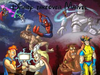 Why might Disney have taken over Marvel in the first place?