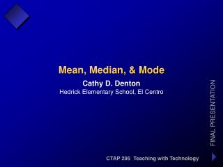 CTAP 295  Teaching with Technology