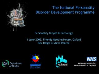 The National Personality  Disorder Development Programme