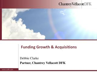 Funding Growth & Acquisitions