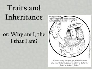 Traits and Inheritance or: Why am I, the I that I am?