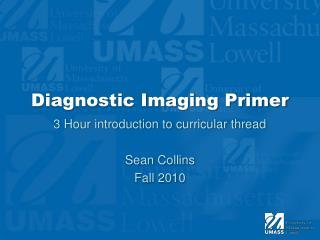 Diagnostic Imaging Primer