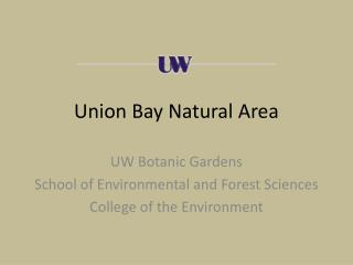 Union Bay Natural Area