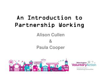 An Introduction to Partnership Working