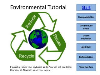Environmental Tutorial