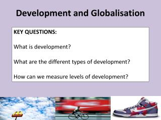 Development and Globalisation