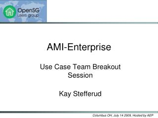 AMI-Enterprise