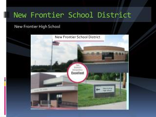 New Frontier School District