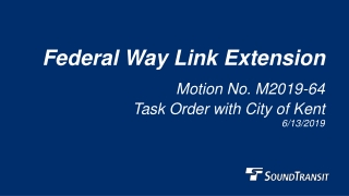 Federal Way Link Extension