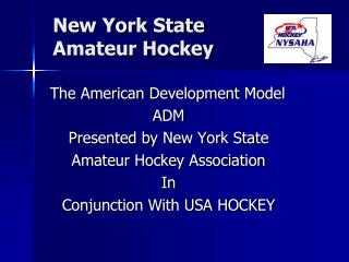 New York State  Amateur Hockey
