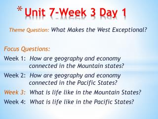 Unit 7-Week 3 Day 1
