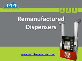 Remanufactured  Dispensers