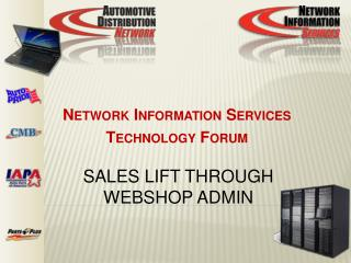 Sales lift through Webshop Admin