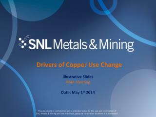 Drivers of Copper Use Change