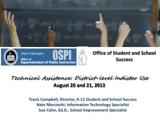 Office of Student and School Success