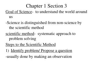 Chapter 1 Section 3