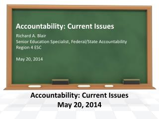 Accountability: Current Issues