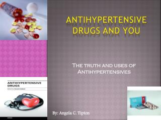 Antihypertensive Drugs and you