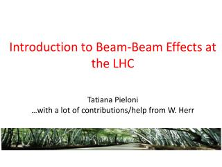 Introduction to Beam -Beam  Effects at the LHC