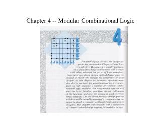 Chapter 4 -- Modular Combinational Logic
