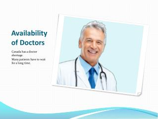 Availability of Doctors