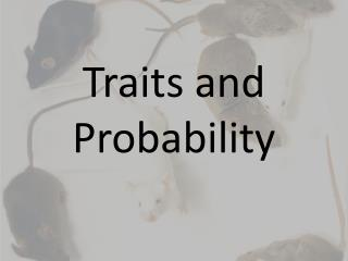 Traits and Probability