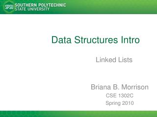 Data Structures Intro