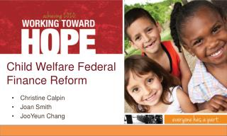 Child Welfare Federal Finance Reform