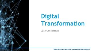 Seminario de Innovación y Desarrollo Tecnológico