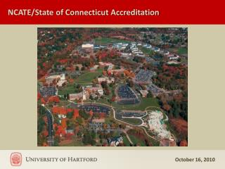 NCATE/State of Connecticut Accreditation