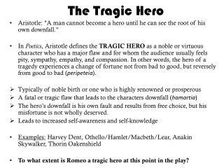 Ppt  Macbeth Tragic Hero Or Villain Powerpoint Presentation  Id  The Tragic Hero
