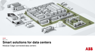 Smart solutions for data centers
