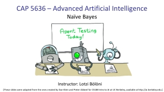 CAP 5636 – Advanced Artificial Intelligence