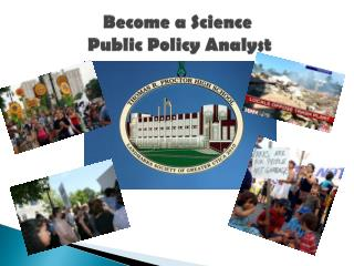 Become a Science  Public Policy Analyst