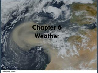 Chapter 6 Weather